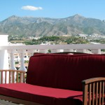 Panoramic View from Hotel Room in Nerja