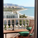 View Mediterranean See from Hotel Room in Nerja